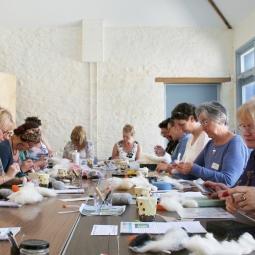 Swans & Cygnets Needle Felting Workshop
