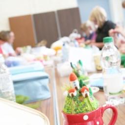 Teacup Garden Workshop By The Happy Felt Club