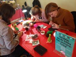 Christmas Mini-Workshops at the Bishop's Palace Artisan Craft Markets