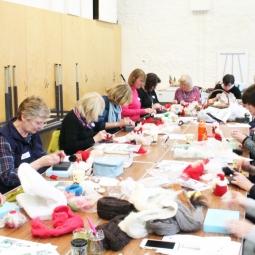 Christmas Needle Felting Workshop 2016